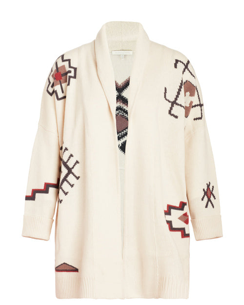 Plus Size Designer Fashion Holiday Gift Guide Naked Cashmere Maxwell Duster sweater