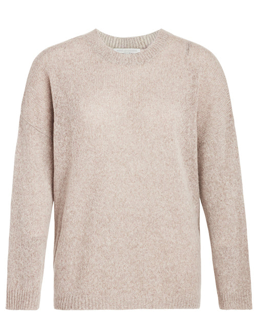 Plus Size Designer Fashion Holiday Gift Guide Naked Cashmere Finley Crewneck sweater