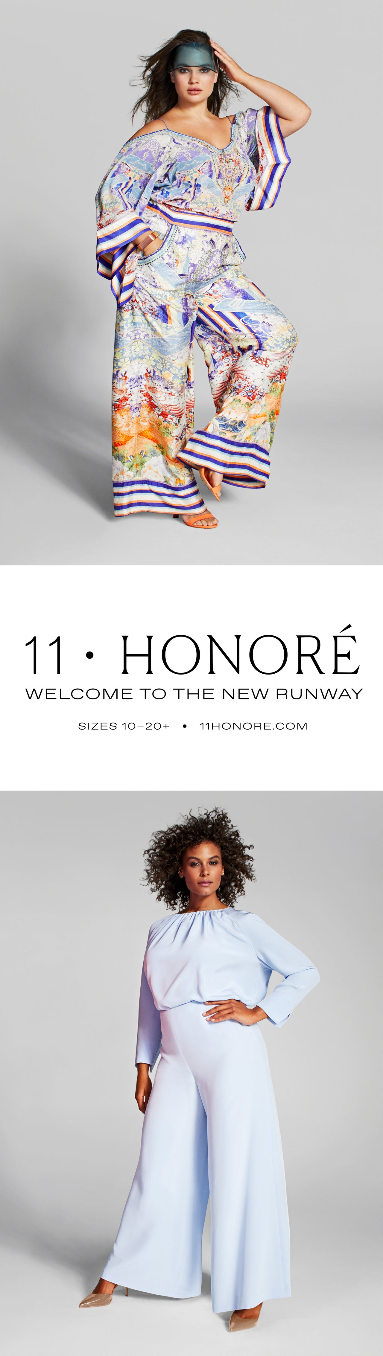 11 Honoré, welcome to the new runway. Sizes 12-24