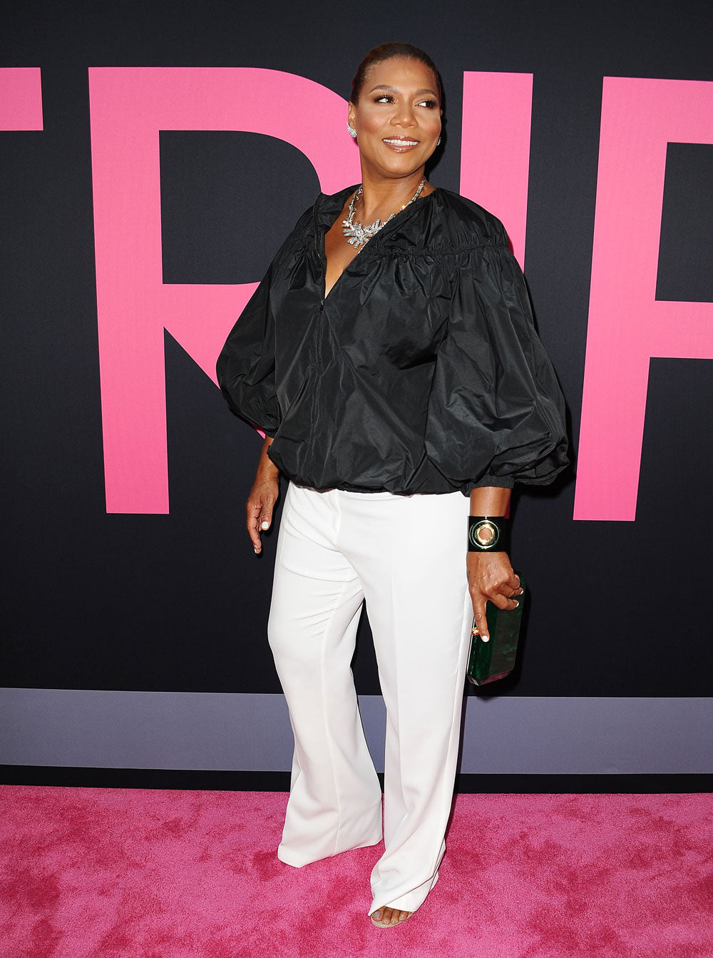 Queen Latifah dressed by Tim Snell