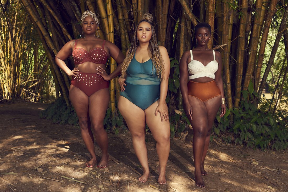 Gabi Gregg Plus Size Swimwear collection