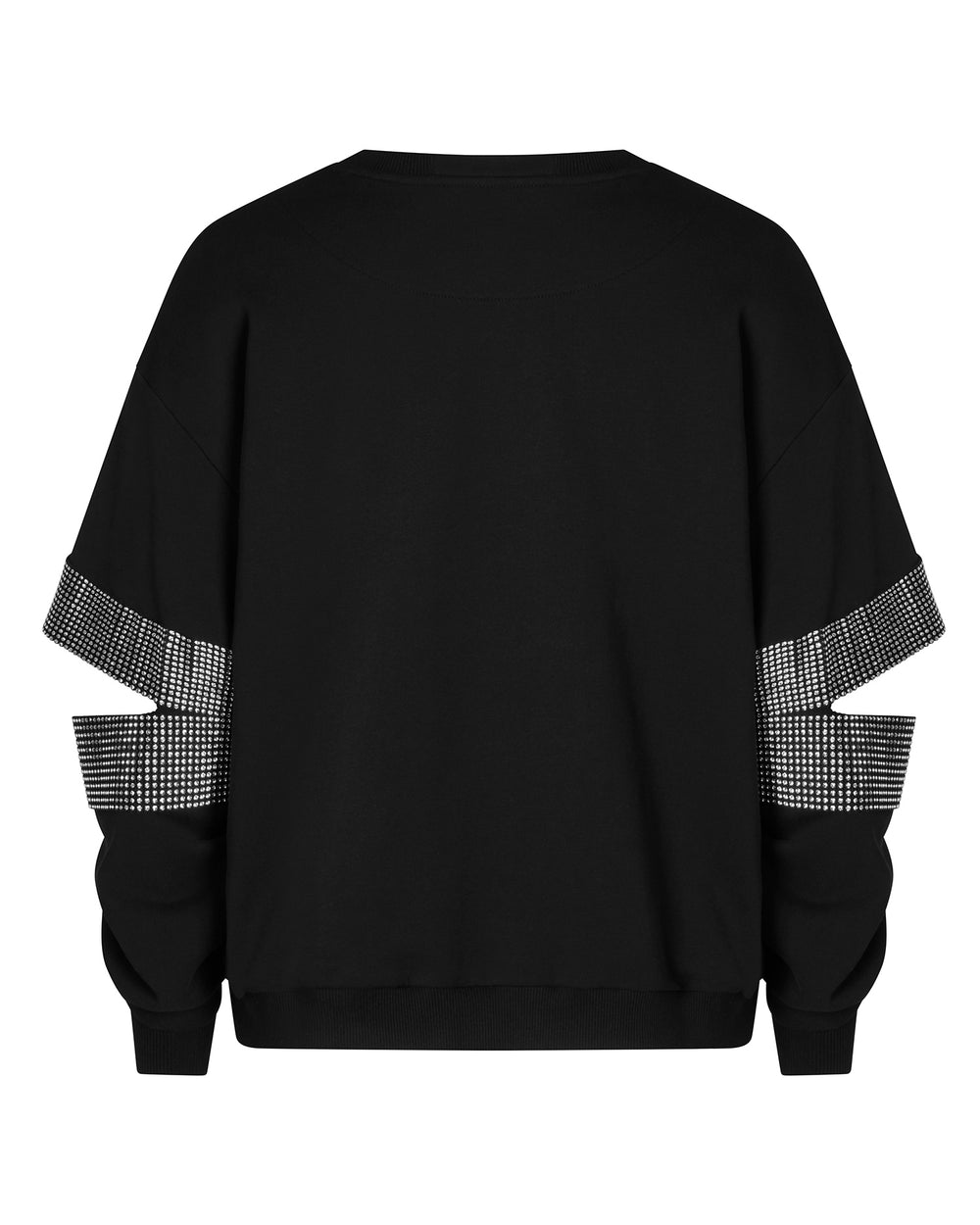 Crystal Slash Sweatshirt