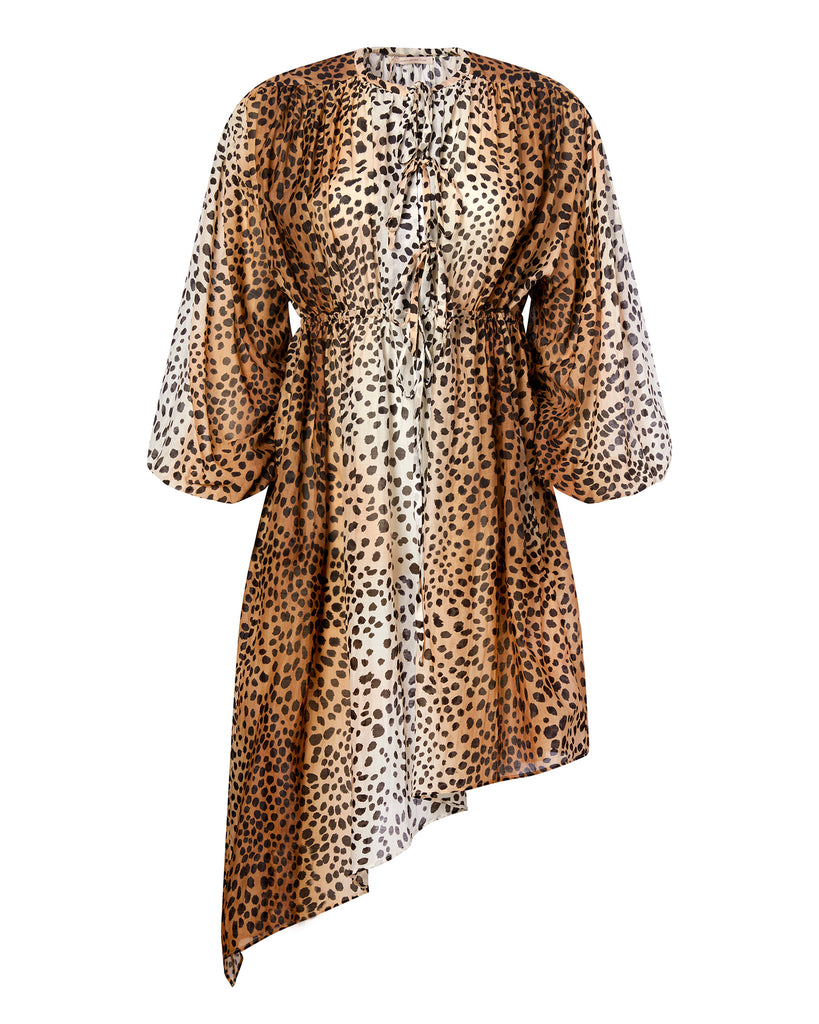Cheetah Poplin Dress