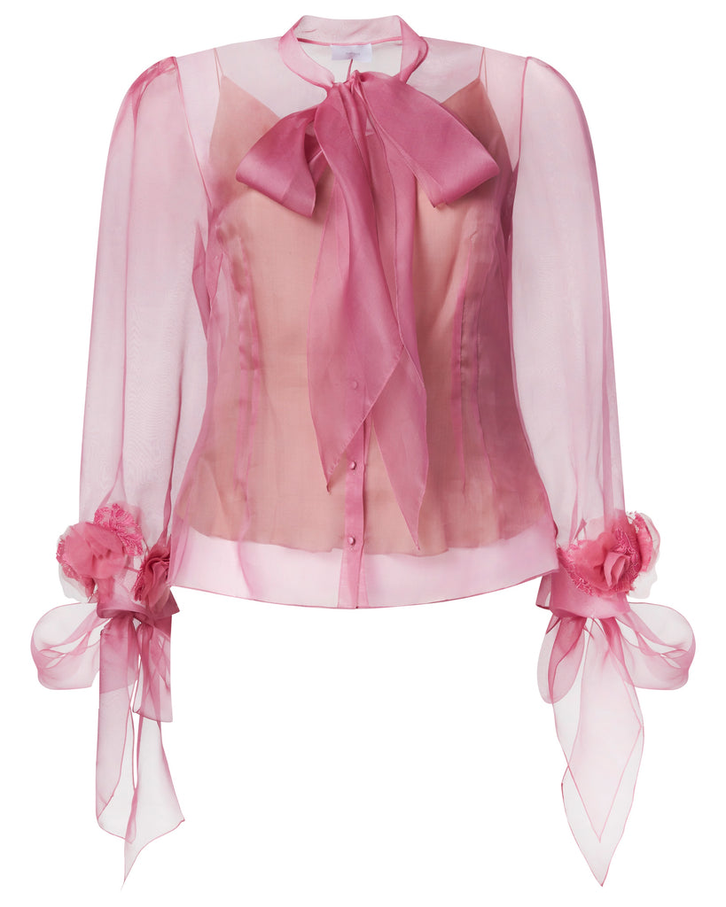 Silk Organza Blouse