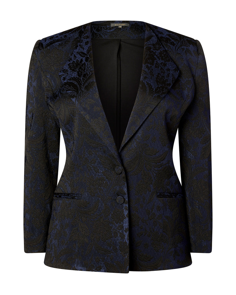 Stretch Jacquard Blazer