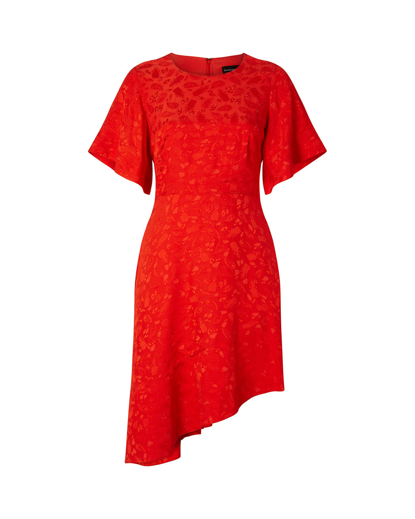 Flare Sleeve Day Dress
