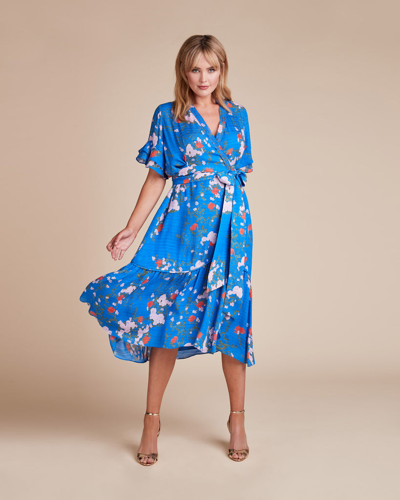 Falling Floral Blaire Dress