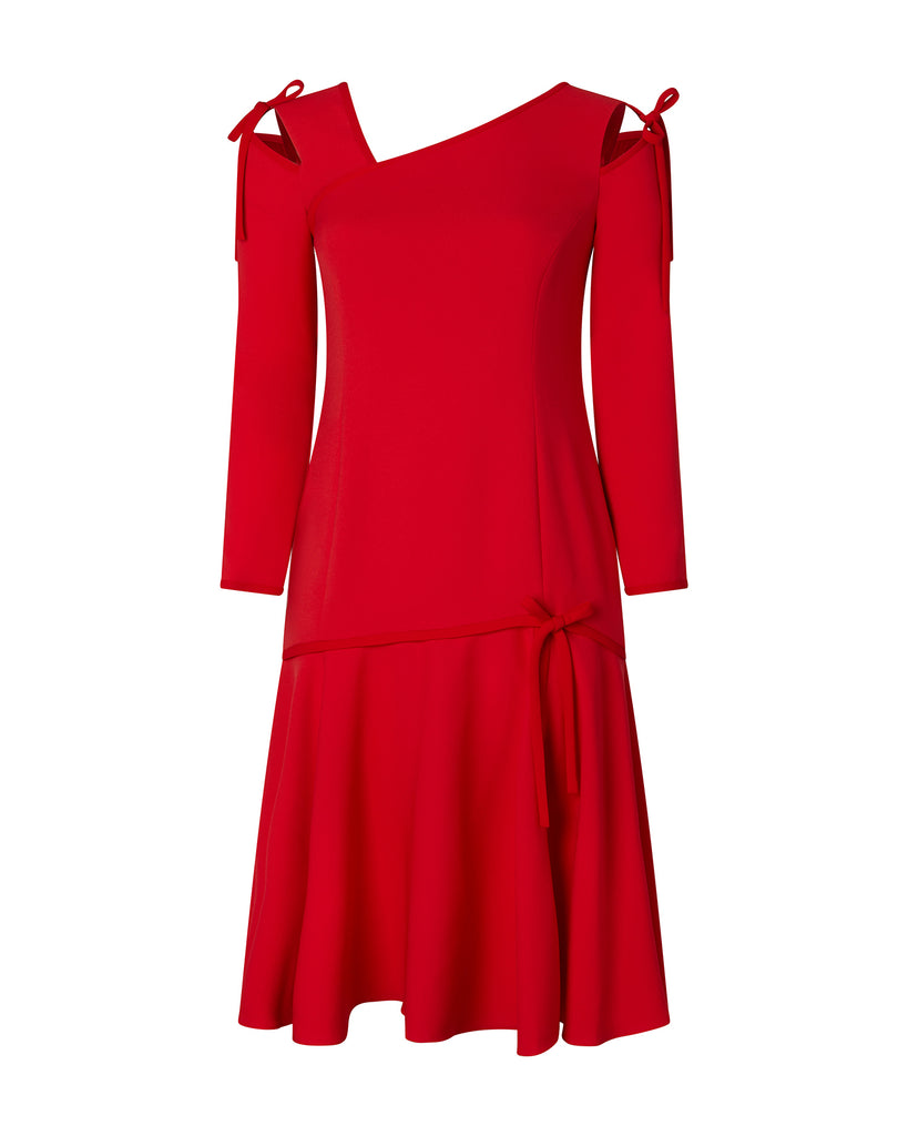 Gioia Long Sleeve Cut-out Dress
