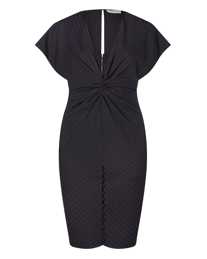 Jackie Twist Front Dress