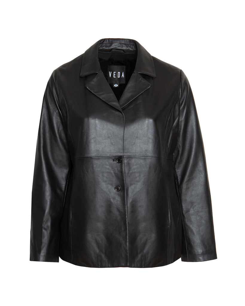 Honor Leather Blazer