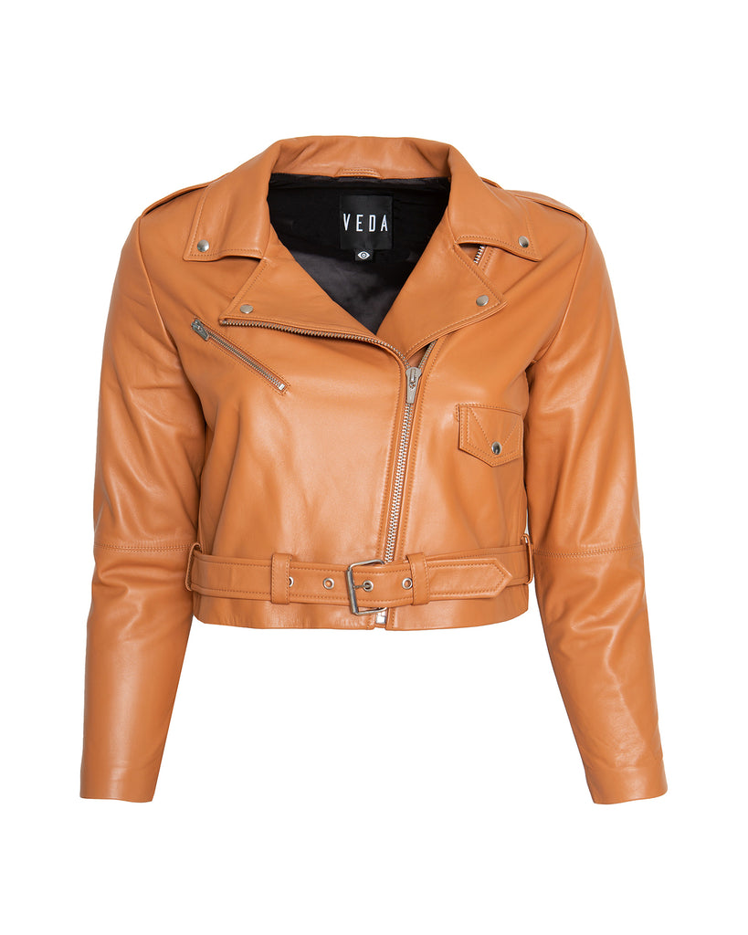Baby Jayne Classic Smooth Leather Jacket