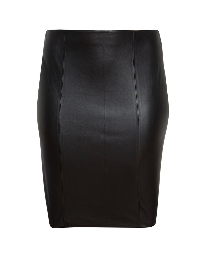 Alexa Leather Skirt