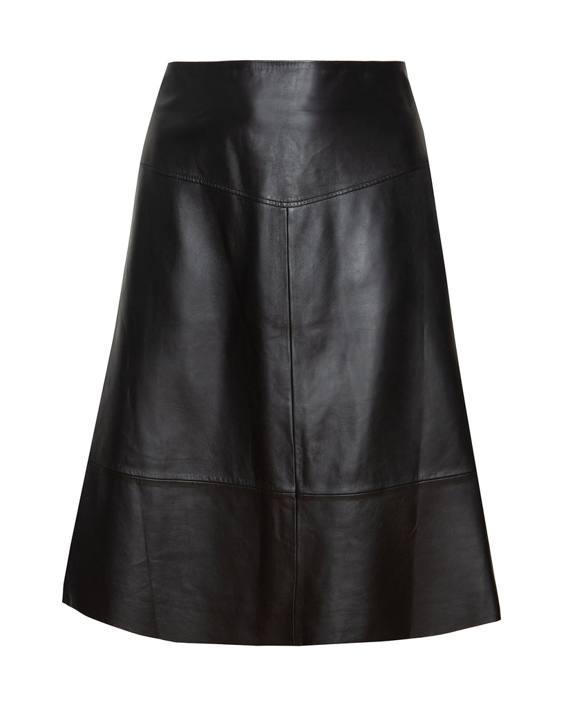Presidio Leather Skirt