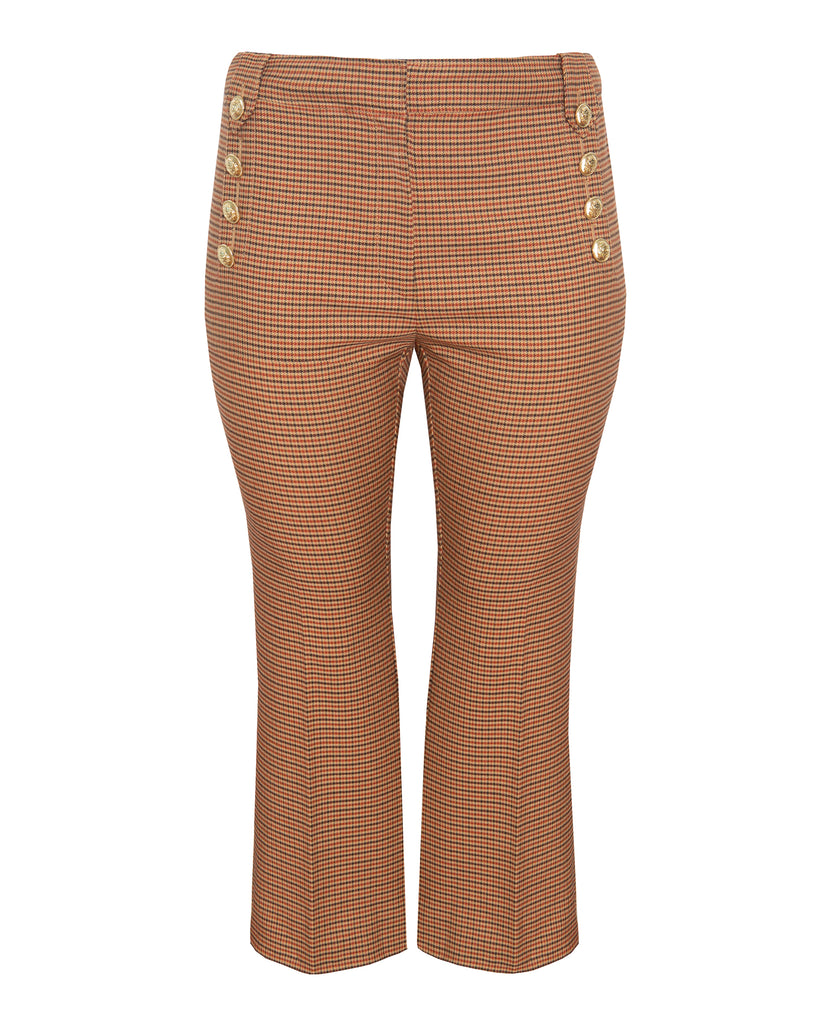 Corinna Cropped Flare Pants