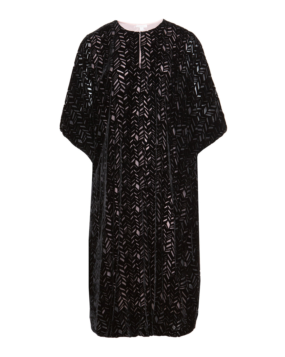 Burnout Velvet Bubble Kaftan