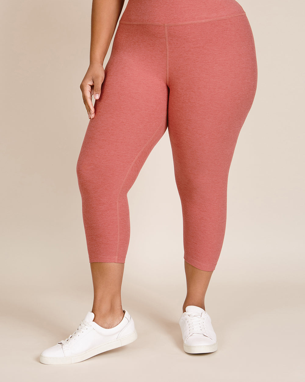 Walk and Talk High Waisted Capri Legging
