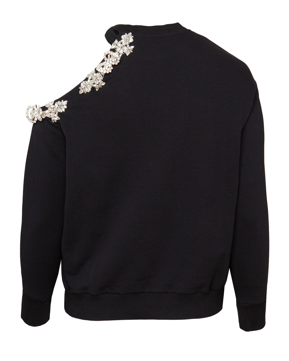 DNA Crystal Cut-Out Sweatshirt