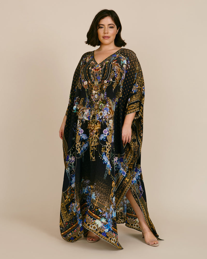Long Kaftan with Buttons