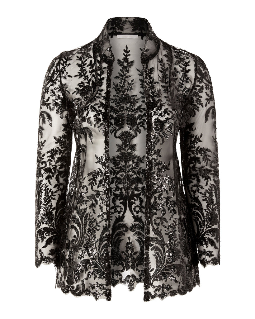 Lace Brocade Jacket