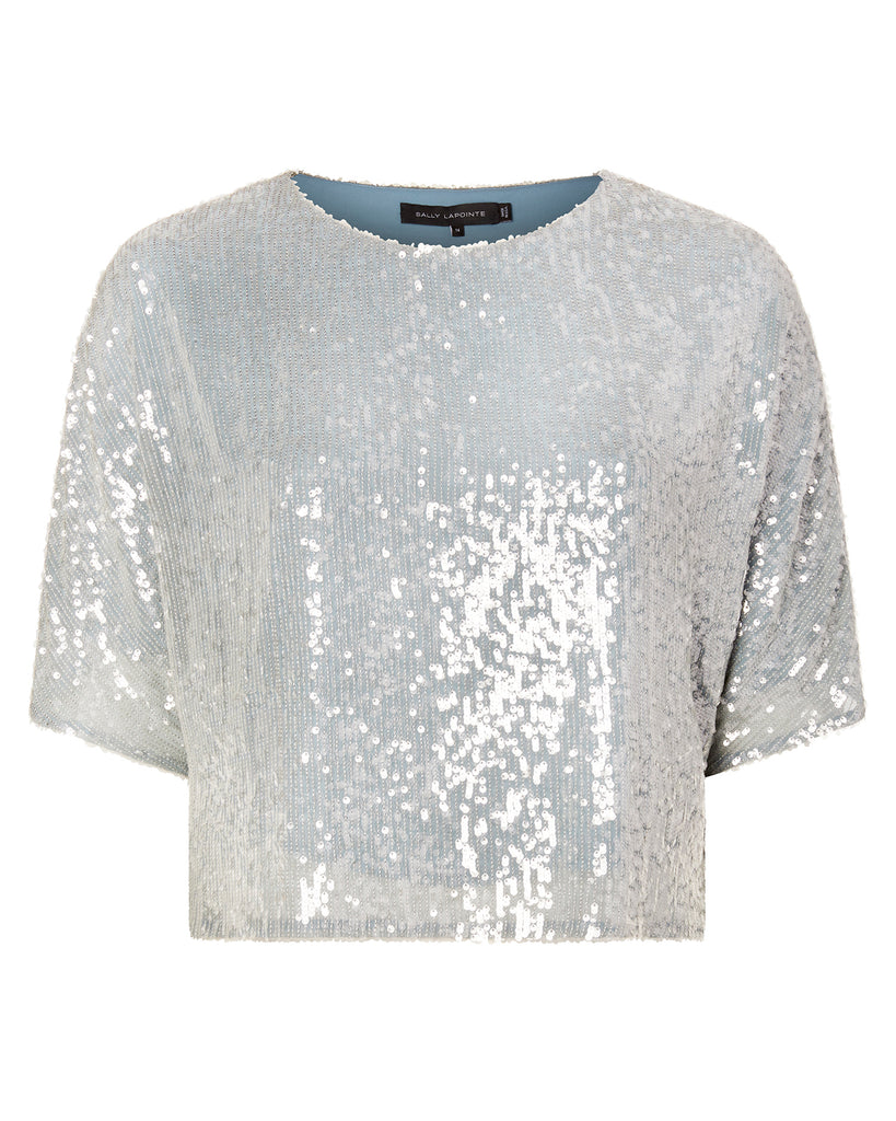 Sequin Viscose Dolman Tee