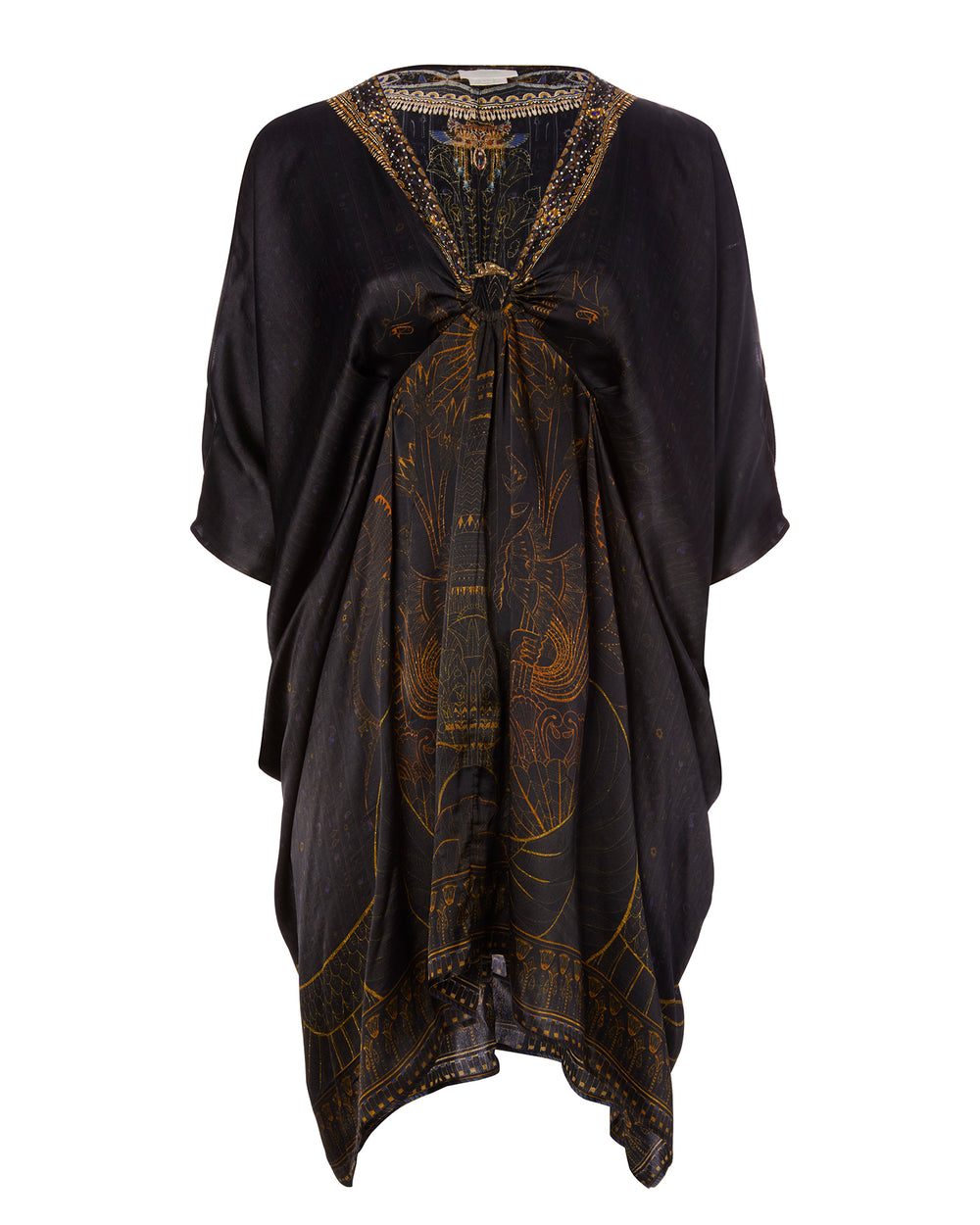 Short Kaftan with Hardware