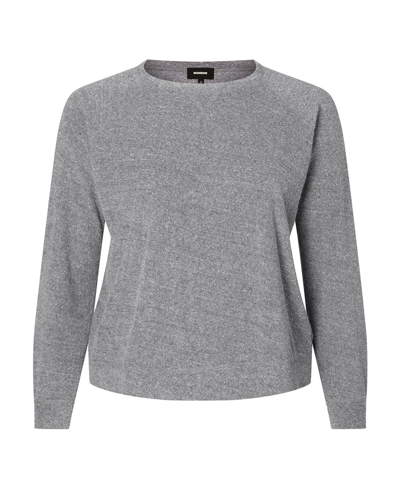 Reversible Terry Raglan Sweatshirt