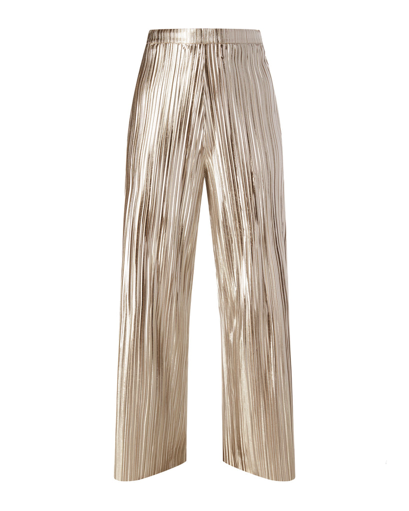 Loose Pleated Pants