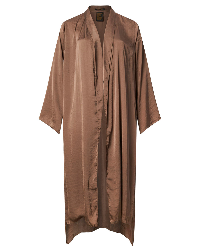 Washed Satin Robe