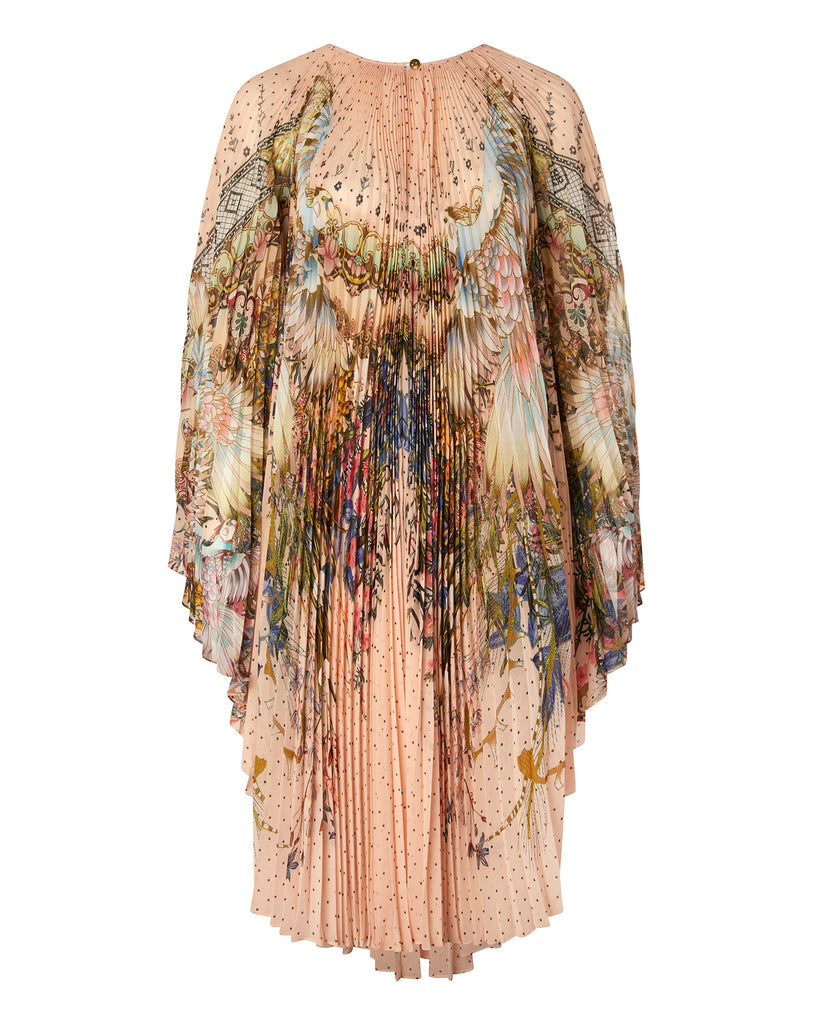 Sunray Pleated Kaftan