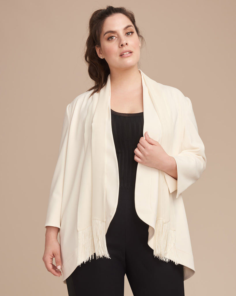 Stretch Crepe Soft Blazer
