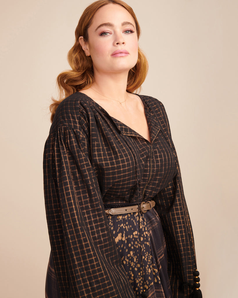 Senator Square Blouse