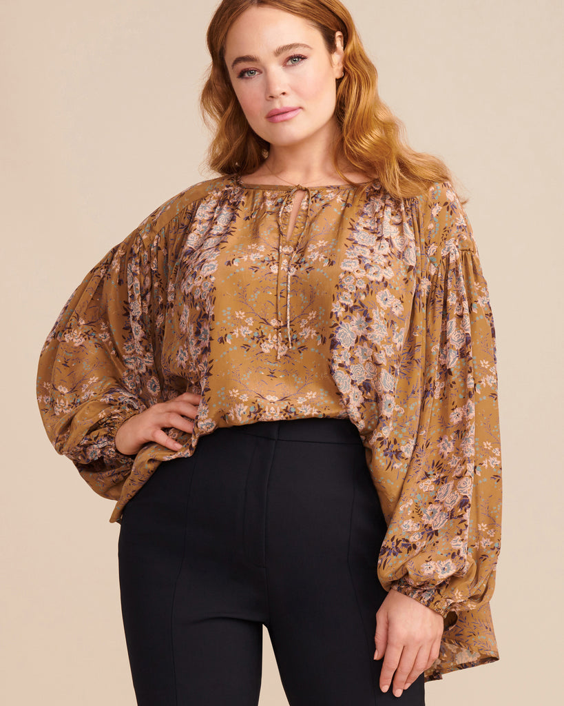 Jethro Printed Top