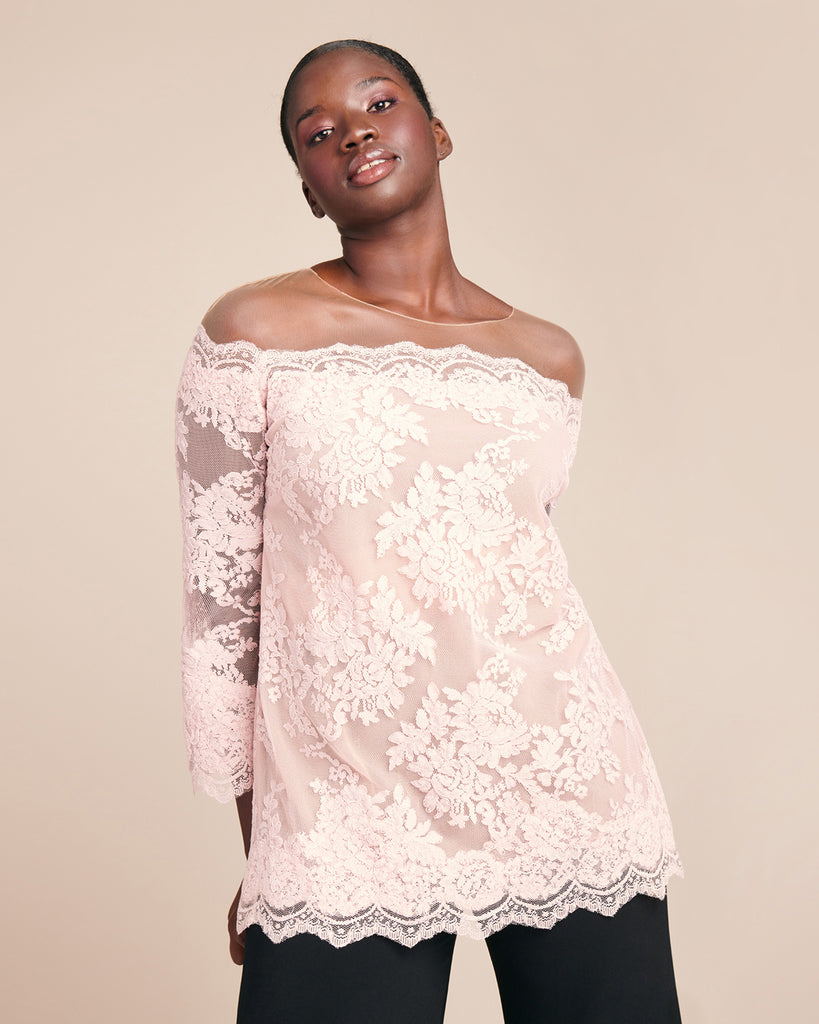 Corded Lace Top
