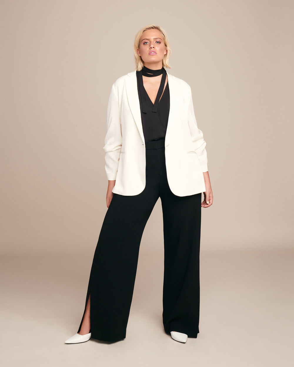 High Slit Admiral Pant
