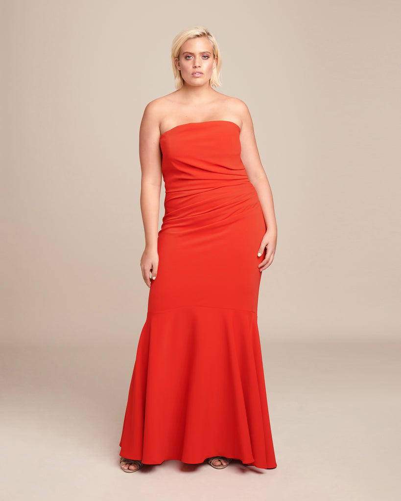 Strapless Corseted Gown
