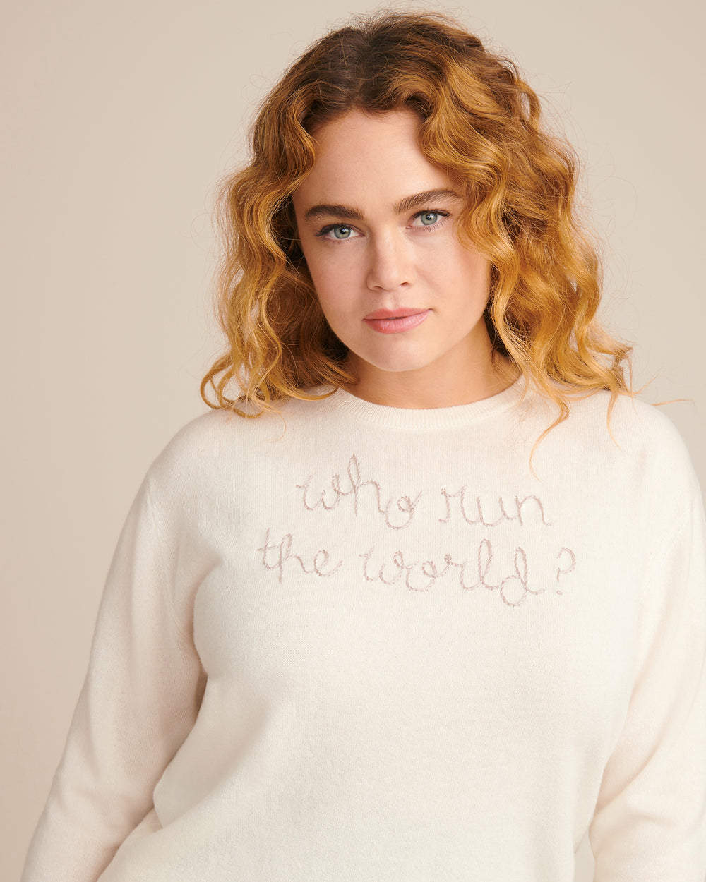 """Who Run the World?"" Sweater"