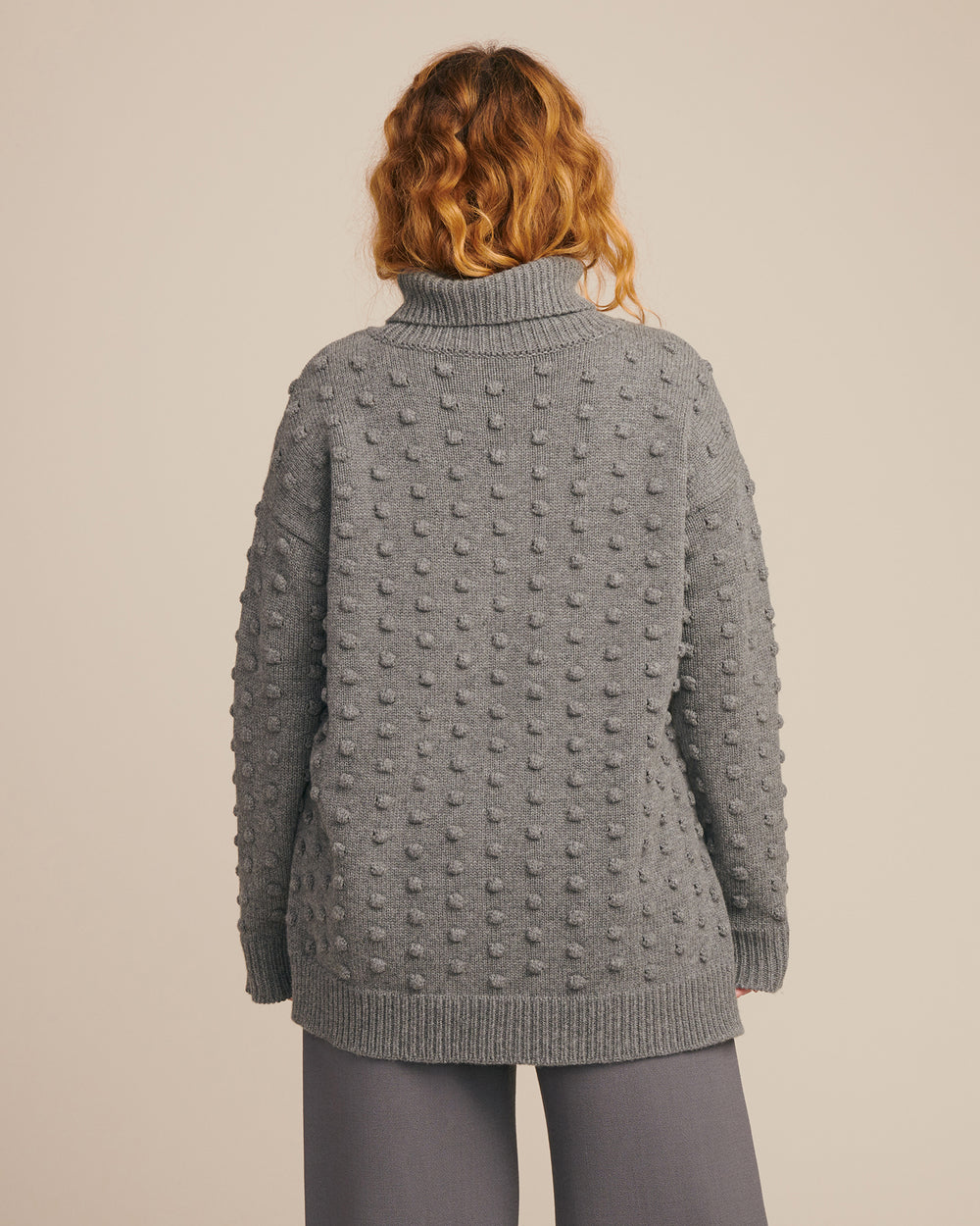 Dotted Turtleneck