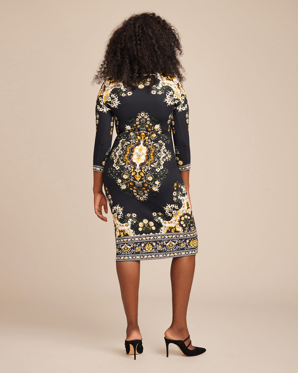 Pluto Dress Printed Jersey