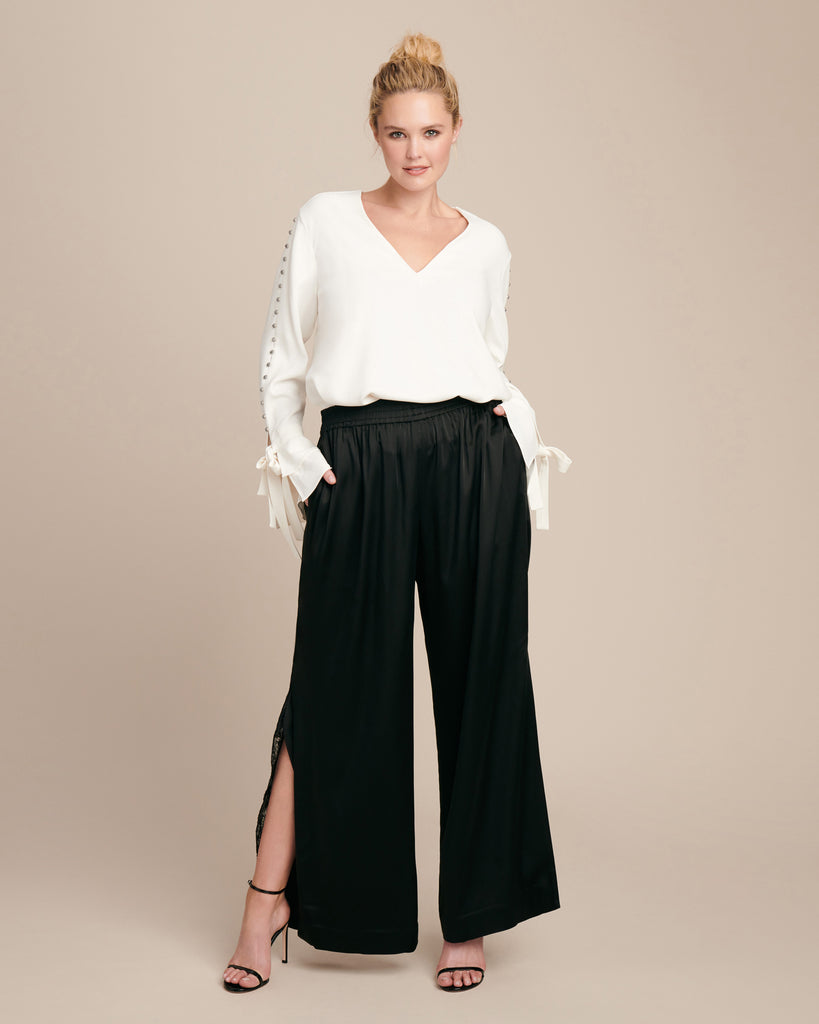 Exclusive Lingerie Sateen Track Pant