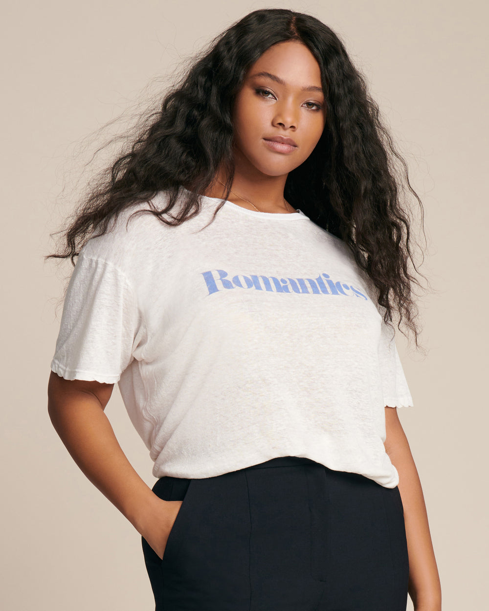 """Hopeless Romantics"" Baby Tee"