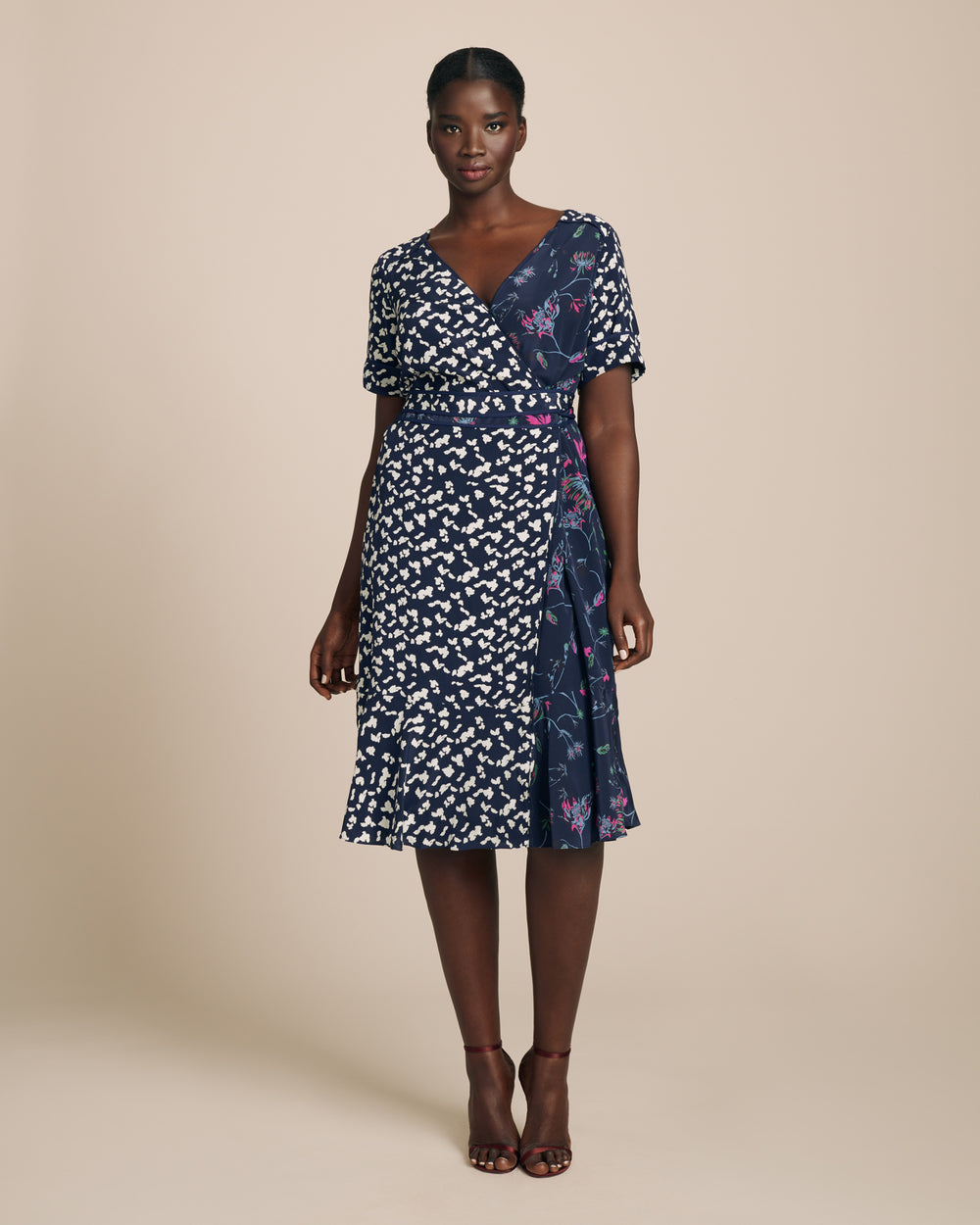 Silhouette Spots Luisa Dress
