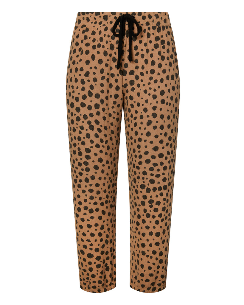 Brushed Cheetah Jogger