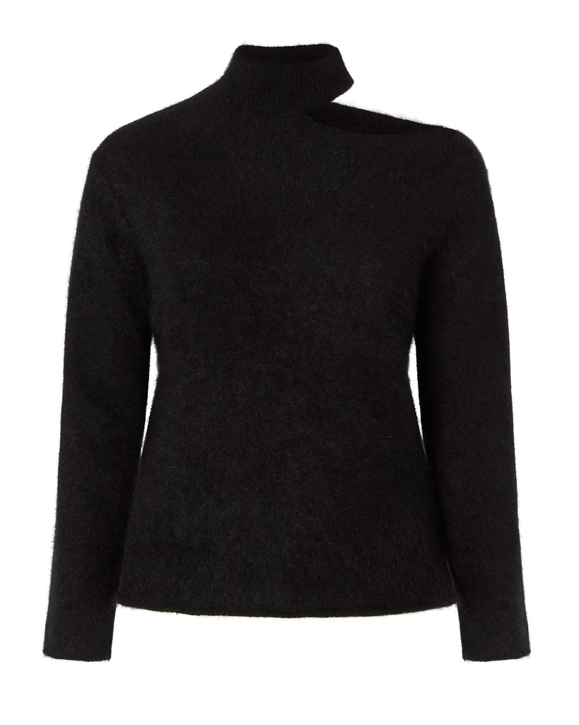 Langley Turtleneck Open Shoulder