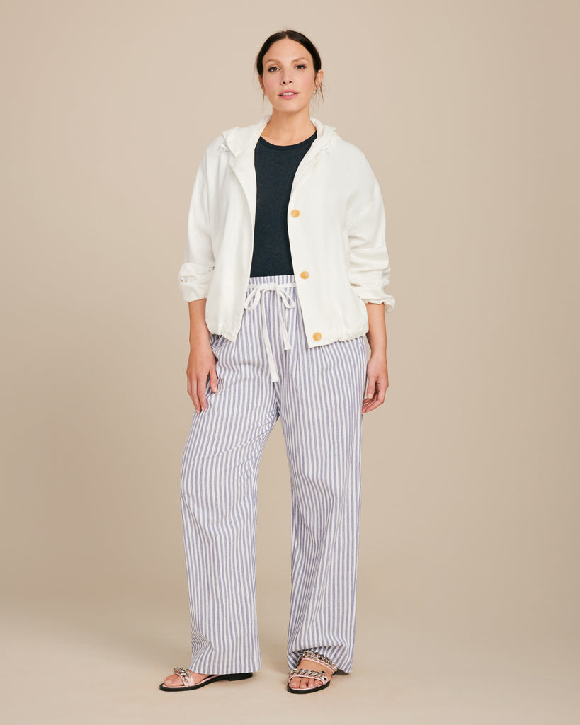 Spacedye Stripe Wide Leg Pant