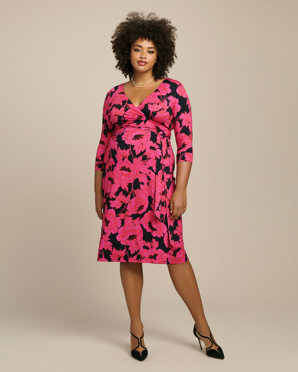 New Julian Two Classic Wrap Dress