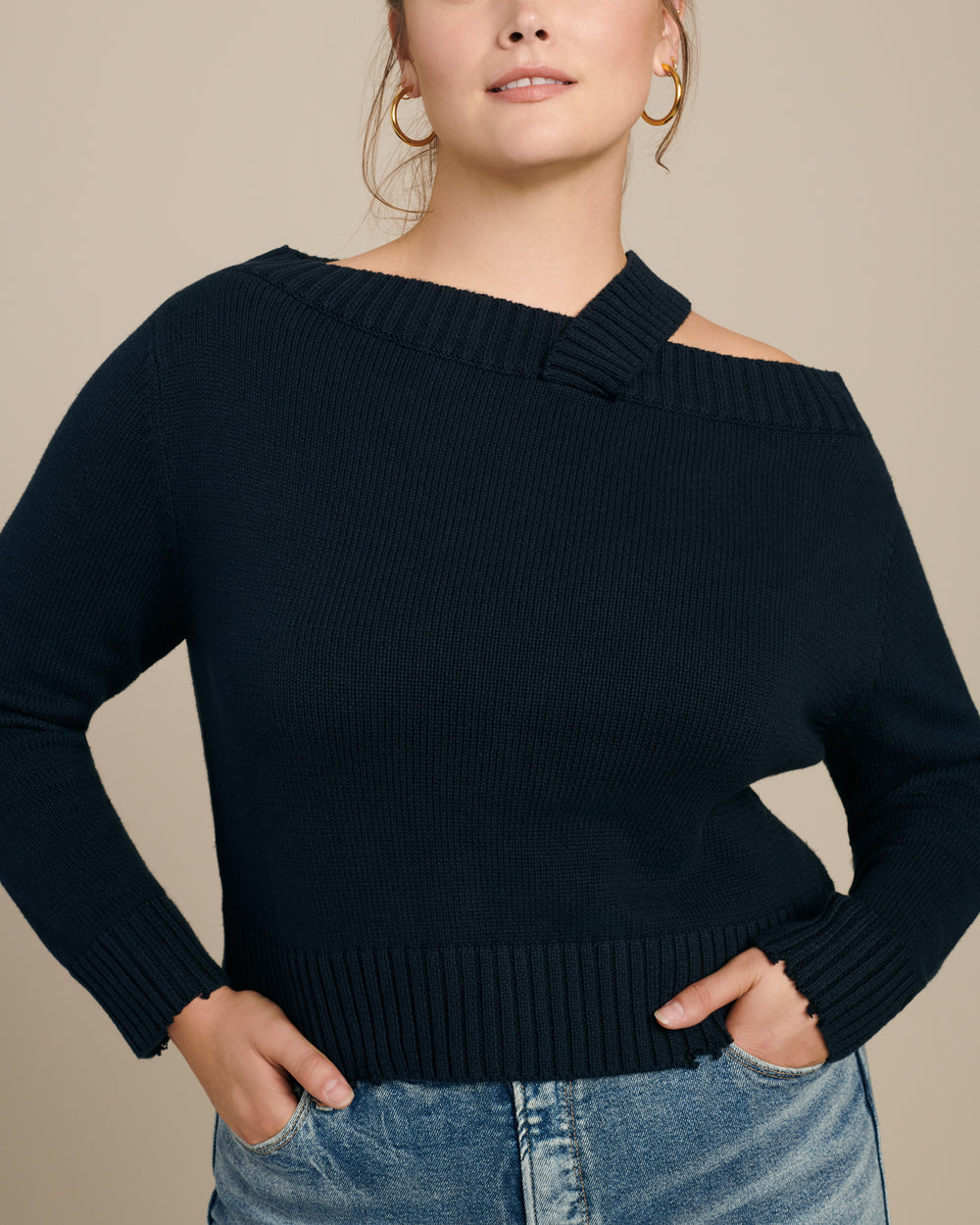 Beckett Off Shoulder Sweater