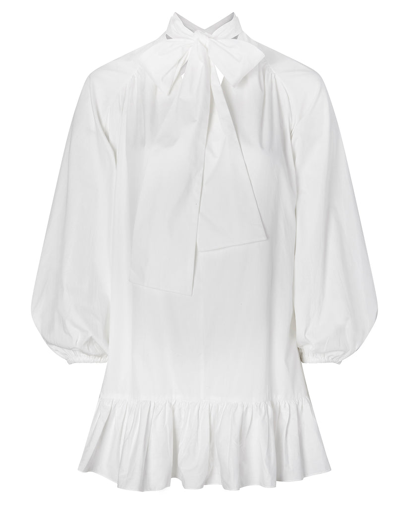 Cotton Poplin Collins Dress