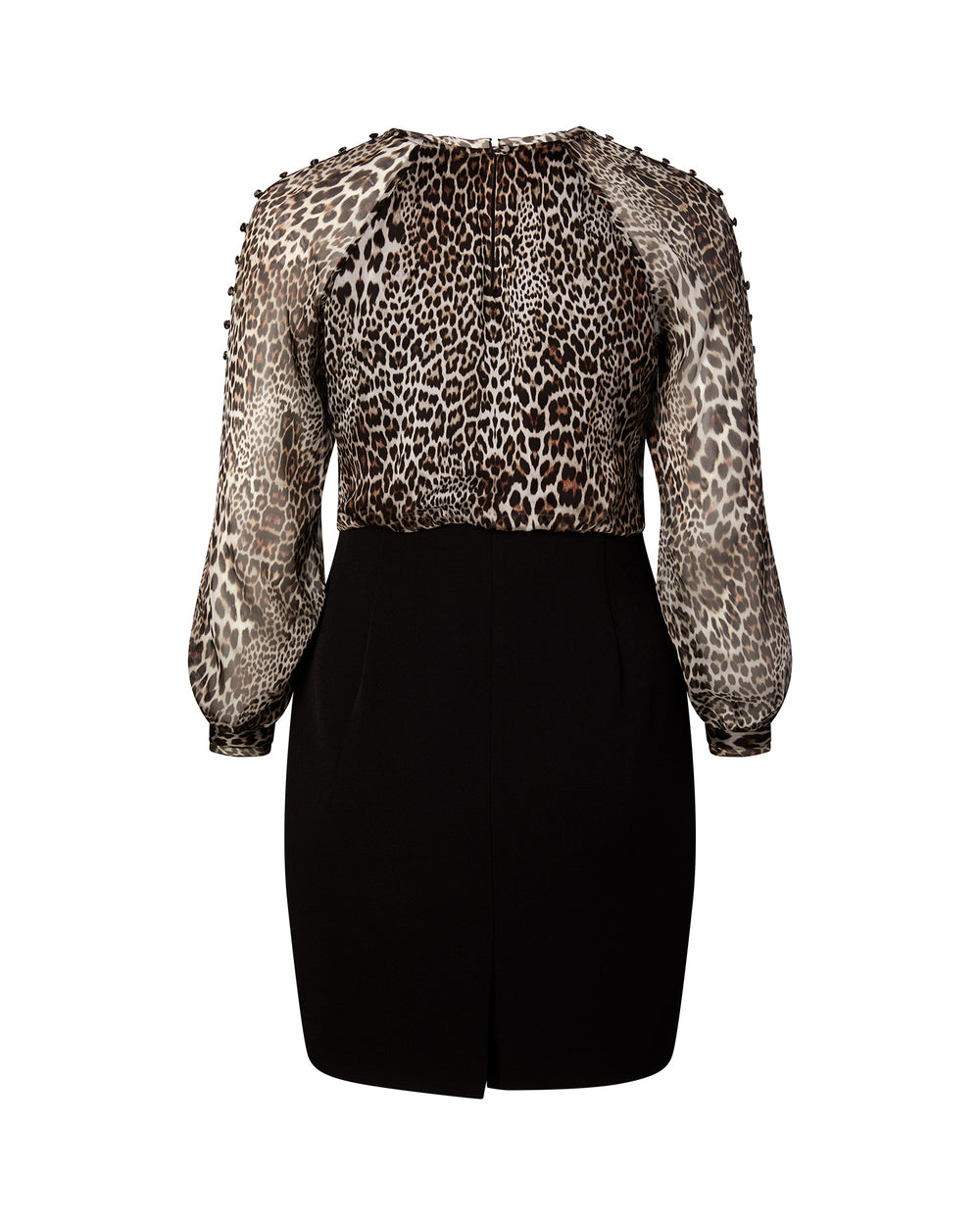 Long Sleeve Leopard Sheath
