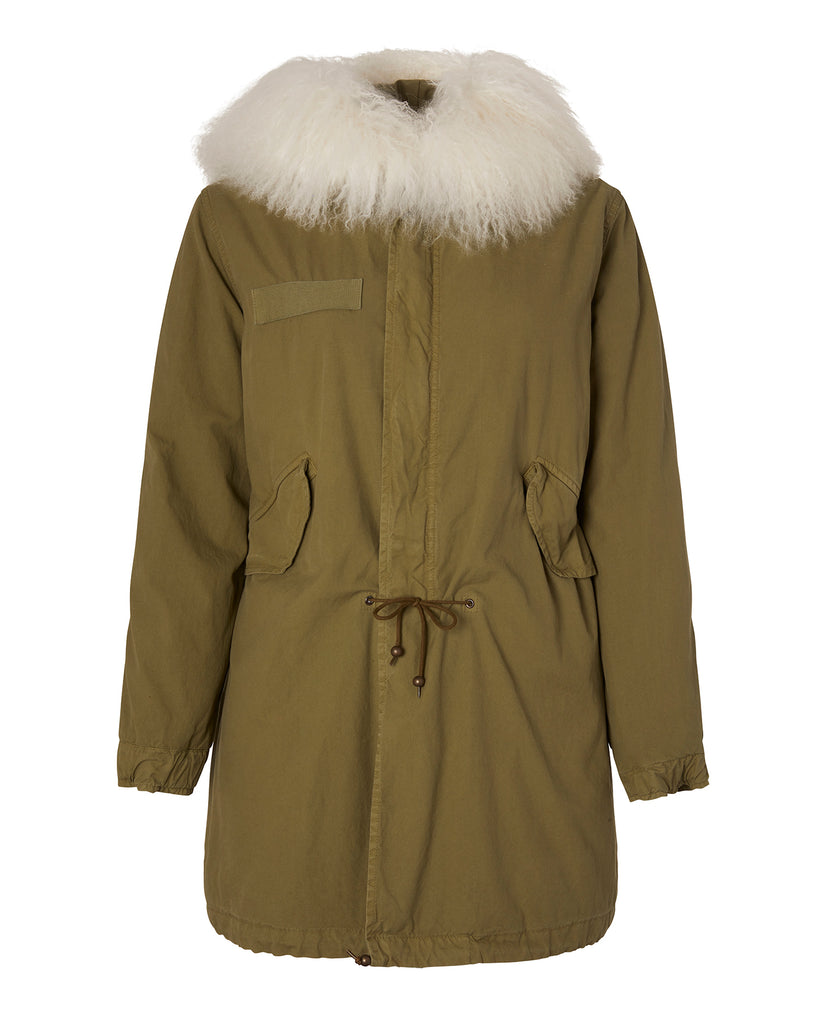 Parka with Mongolian Fur Hood