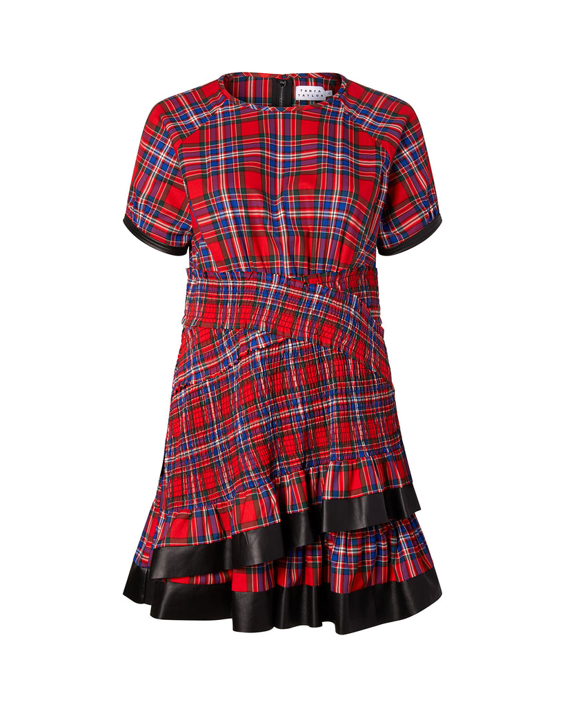 Plaid Flannel Nicole Dress